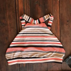 Acacia Swimwear Dubai Top Retro Stripe